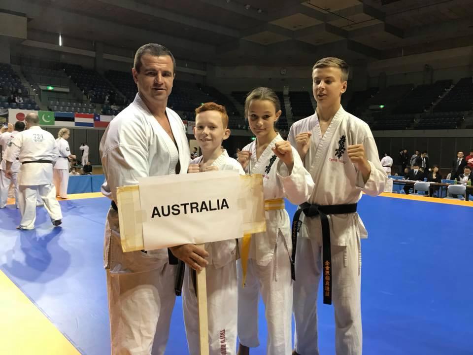 KWF Australian team in Japan!
